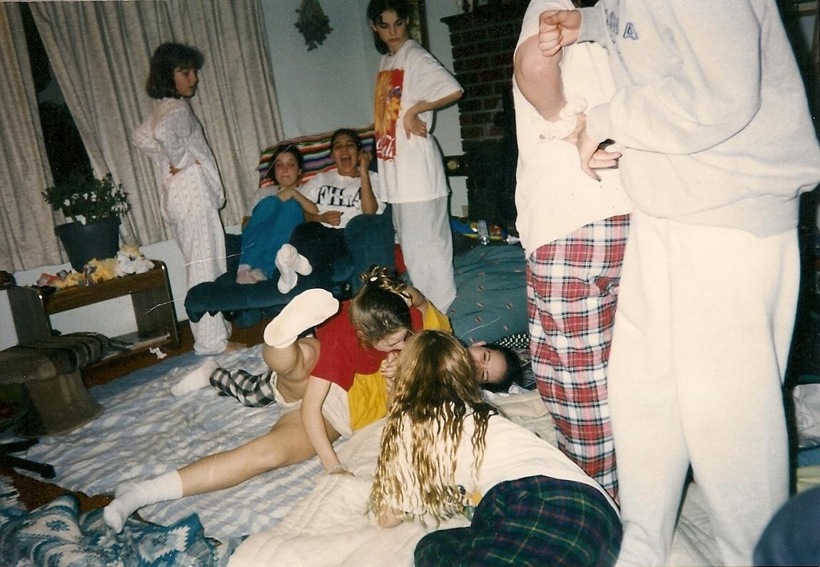 Junior high sex party